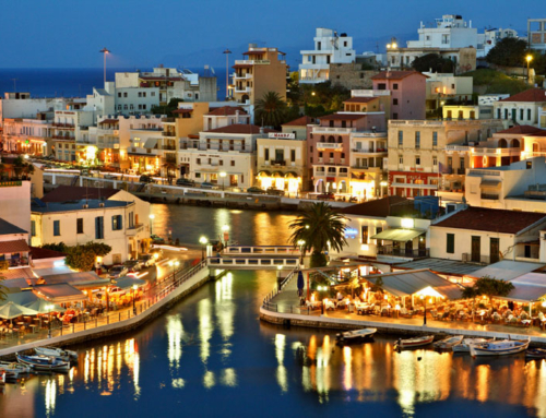 Agios Nikolaos town in our view