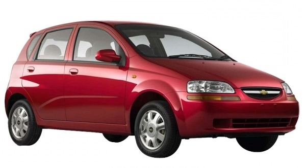 Chevrolet Aveo (no A/C, not new) 1.2 cc