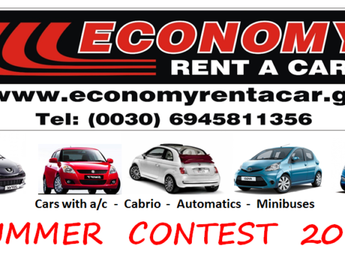 Economy Contest SUMMER 2017 – WINNER – FREE 4days Rental