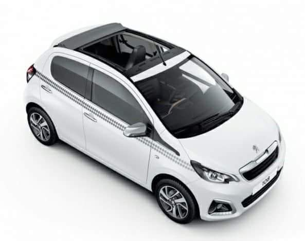 Peugeot 108 Open Top 1.0 cc - Automatic
