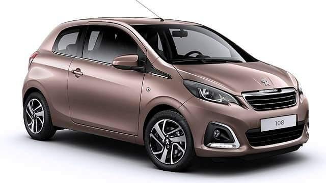 Peugeot 108 1.0 cc